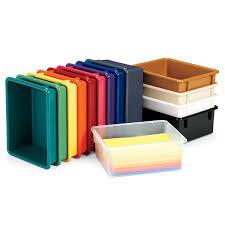 Daycare Room Dividers - daycare storage bins trays tubs u0026 lids schoolsin