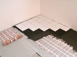 Cost Of Heated Tile Floor Electric Radiant Heating Technology Heatizon Systems