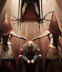 Pyramid Head Halloween Costume Silent Hill 2 Guilty Pyramid Heads Flaunting