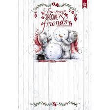 special friends christmas card me to you tatty teddy bear