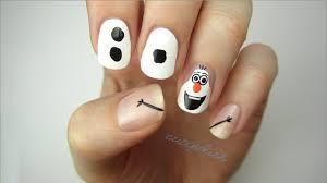 disney inspired frozen nail art tutorial nail crazy disney s