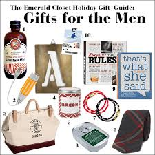 mens gifts gift guide for covet fridays what to get the men in your