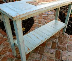 Distressed Sofa Table by Distressed Rustic Home Decor Wooden Sofa Table Shabby