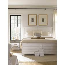 liam coastal beach distressed wood bed queen kathy kuo home