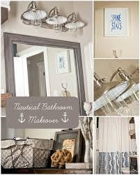 Nautical Themed Home Decor How To Style A Nautical Bathroom Makeover Hometalk