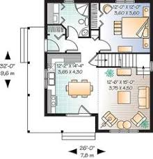 tiny cottages plans craftsman style house plan 2 beds 1 5 baths 964 sq ft plan 312