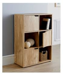 living room storage units 6 cube oak turin wood finish shelf shelving books toys living room