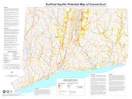 Lyme Map Deep Surficial Aquifer Potential Map