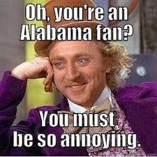 Funny Alabama Football Memes - 54 best i hate alabama football images on pinterest alabama