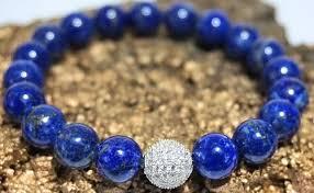 blue bead bracelet images Lance lapis quot boybeads 10mm brilliant blue lapis lazuli sterling jpg
