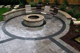 Ideas Design For Diy Paver Patio Landscaping Pavers Ideas Bay Patio Design With Gas Using