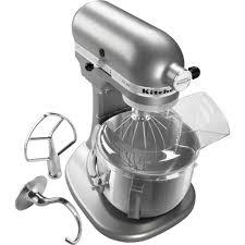 kitchenaid ksm500pssm 5 qt pro 500 series silver stand mixer