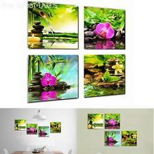 Wall Decor Canvas Canvas Prints Zen Art Wall Decor Spa Massage Treatment Painting