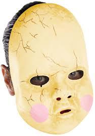 scary masks baby doll mask walmart