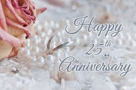 25th Anniversary Wishes Silver Jubilee 25th Wedding Anniversary Wishes Messages Quotes Images For