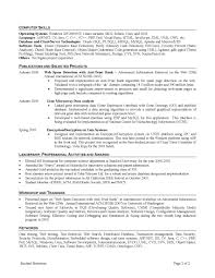sample resume for freshers engineers computer science pdf u2013 the