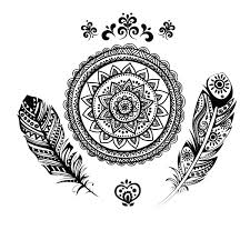 mandala tattoos png indian