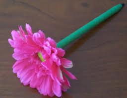 flower pen set diy wedding flowers made easy