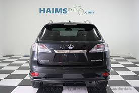 lexus rx hybrid used 2010 used lexus rx 450h fwd 4dr hybrid at haims motors serving