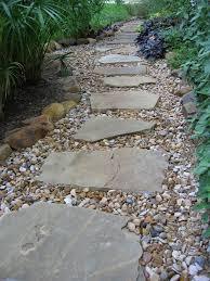austin lawn drainage dry creek beds path to success pinterest