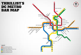 Dc Subway Map by Amending Thrillist U0027s Dc Metro Bar Map Live Fast Dc