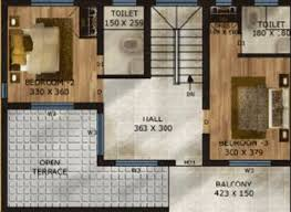 Smart Floor Plan by Vc Hills Smart Villas By Vc Homes In Kakkanad Kochi Price