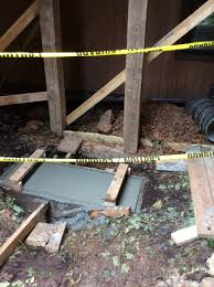 helical piers solve deck problems reynolds contracting virginia