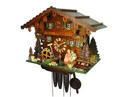Regula Cuckoo Clock Chalet 1 Day Kissing Couple Cuckoo Clock With Music 36cm By August