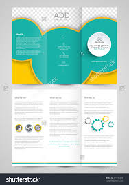 tri fold brochure template illustrator free best sles templates part 2