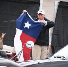 State Flag Of Texas überflutung Und Tote Houston Berührt Mehr Als Indien Welt