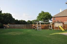 two sday 200 u201d flower mound home with a kid u0027s dream backyard i