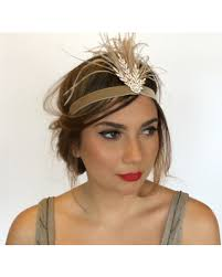 Sho Gatsby memorial day s sales on gatsby 1920s headpiece gold