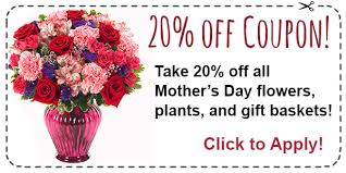 flower coupons best s day flowers deals this may 11th 2014 the online