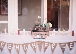 food tables at wedding reception wedding food for kids popsugar moms
