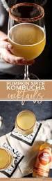 pumpkin spice kombucha cocktails receta