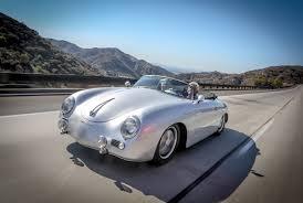 porsche speedster james dean 1957 porsche 356a outlaw jay leno u0027s garage youtube