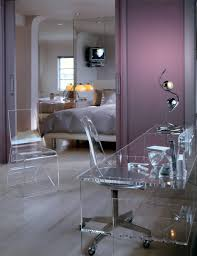 decor u0026 tips stylish lucite desk and lucite desk chair also