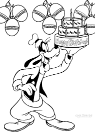 goofy coloring pages coloring books 735