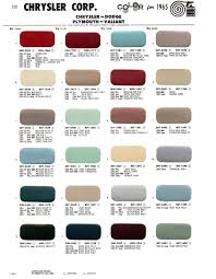 Light Turquoise Paint by 1965 Exterior Paint Color Charts