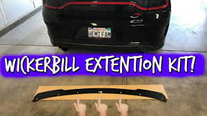 aero sport concepts wickerbill extension kit unboxing youtube