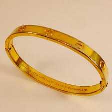 love bracelet gold plated images Charles revson jewelry cartier cipullo love bracelet by revson jpg