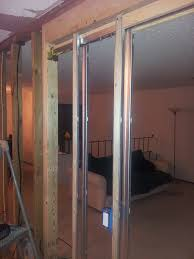 how do i secure electrical wiring to a pocket door frame home