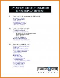 23 free outline examples business plan template s cmerge