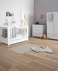 Nursery Furniture Set White Franklin Cot Bed 3 Nursery Furniture Set White