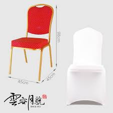 Polyester Chair Covers Aliexpress Com Buy 100 Pcs Universal White Stretch Polyester