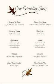 exles of wedding ceremony programs wedding ceremony and reception program wording 100 images 28