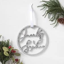 personalized engraved ornament foxblossom co
