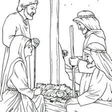 free coloring jesus born archives mente beta