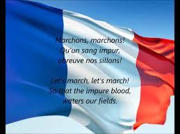 French Flag Banner French National Anthem