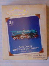 hallmark lionel blue comet 400e steam locomotive ornament 2002 ebay